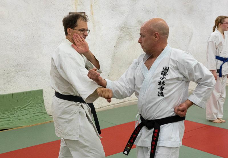 Karaten peruskurssin kertaus ja keltaisen vyön koe