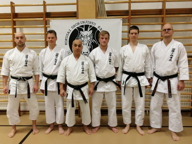 Uusia mustia vöitä Jukara Karatessa